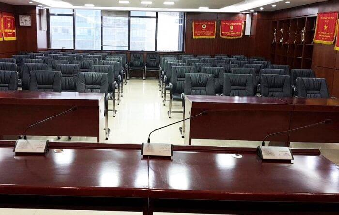 Tư vấn, báo giá, thi công âm thanh phòng họp TOA tại Lạc Việt Audio