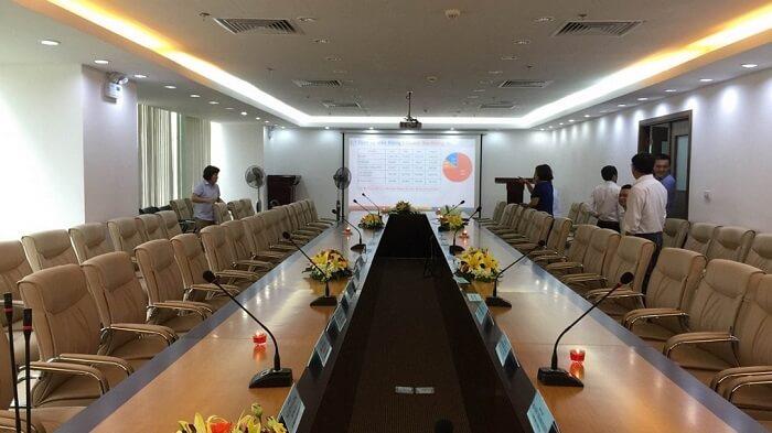 Báo giá âm thanh phòng họp sử dụng hệ thống DB Technology