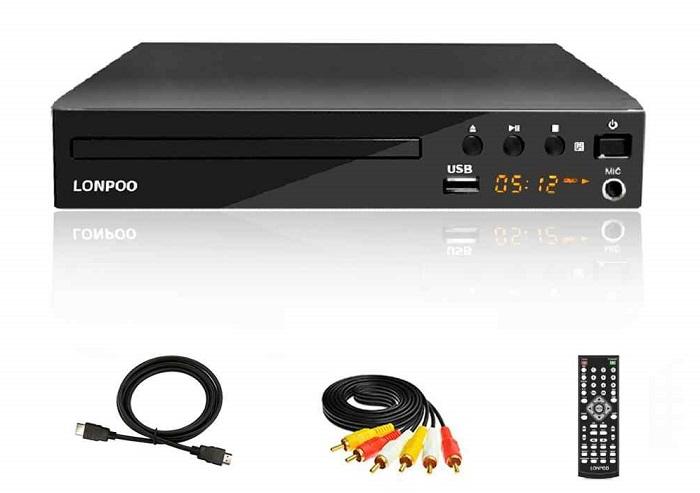 Đầu DVD, VCD thường có các cổng kết nối đơn giản như HDMI, AV