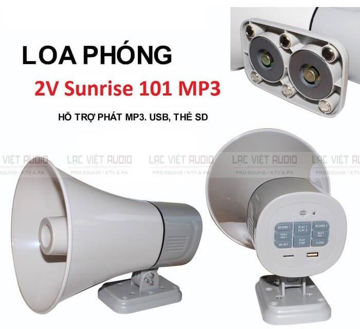 Loa thông báo 2V - Sunrise 101 MP3