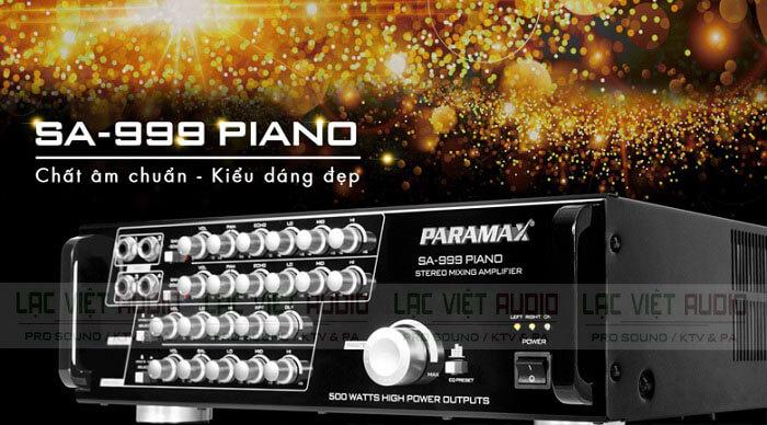 Amply nghe nhạc vàng Paramax SA 999 PIANO