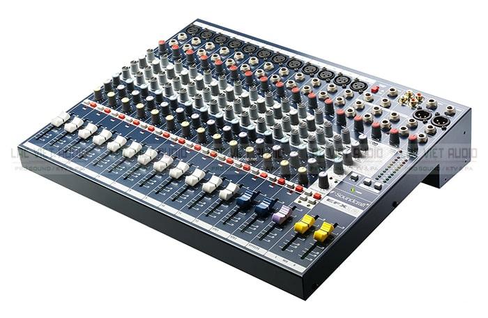 Bàn mixer cũng là thiết bị vô cùng quan trọng