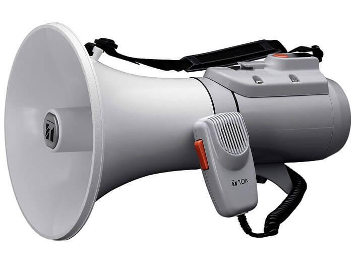 Loa phát thanh được tạo nên từ nhiều bộ phận khác nhau