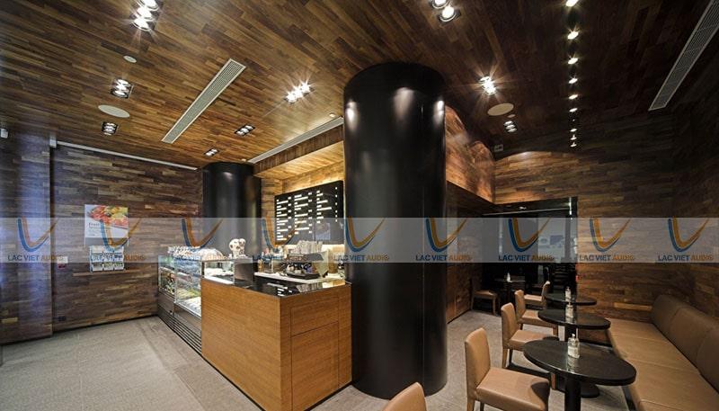 Chọn lựa có tiêu chí rõ ràng để có được chiếc loa âm trần quán cafe phù hợp nhất