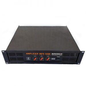 Cục đẩy Công suất Royamax MPX 3200