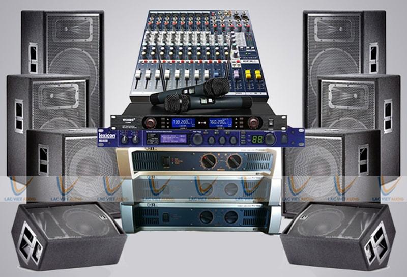 Dàn nhạc sống đám cưới 115 triệu đảm bảo âm thanh cho trên dưới 200 khách