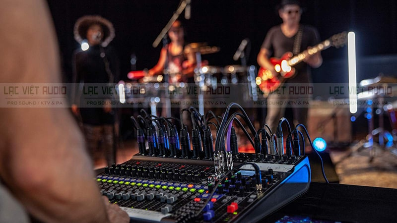 Bàn mixer số được ứng dụng trong nhiều hệ thống âm thanh