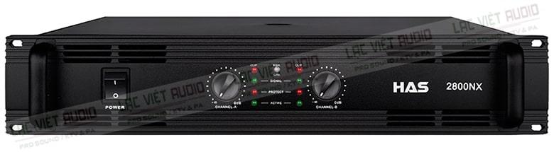 Cục đẩy HAS 2800- NX được đánh giá cao về chất lượng âm thanh đẳng cấp.