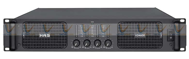 Lạc Việt Audio nhập khẩu và phân phối chính hãng cục đẩy HAS VS 4600