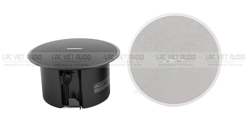 Loa âm trần Bose DesignMax DM2C LP có thiết kế hai màu trắng đen cơ bản