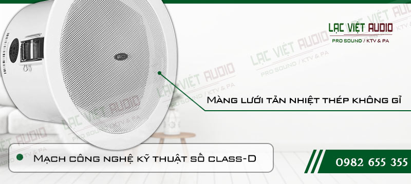 Tính năng vượt trội của loa âm trần ITC T 105F