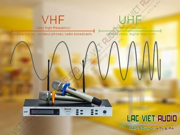 Khi nào nên sử dụng micro VHF