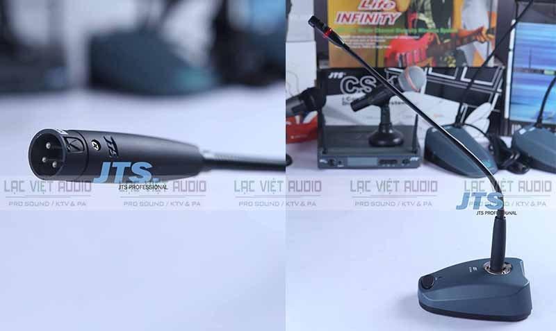 Không ai có thể phù định dwuojc nhiều đặc điểm nổi bật của Micro cổ ngỗng JTS GM-5212L