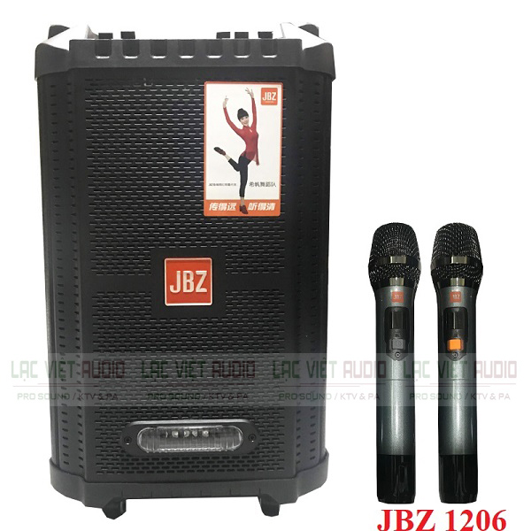 Đánh giá loa kéo JBZ 1206
