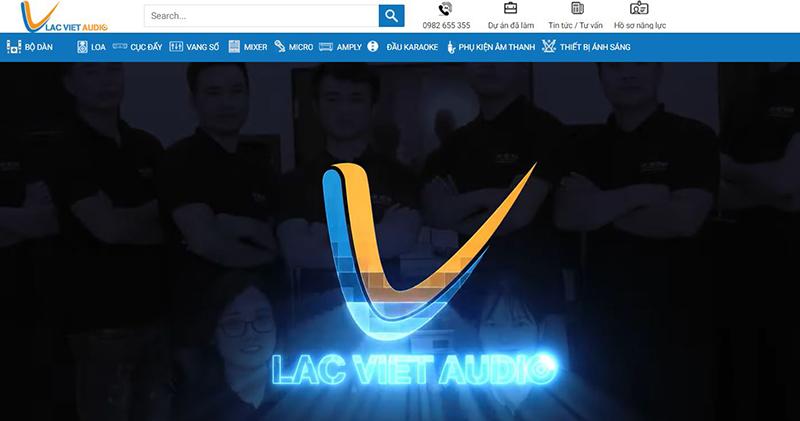 Lạc Việt Audio - Đơn vị âm thanh số 1 Việt Nam