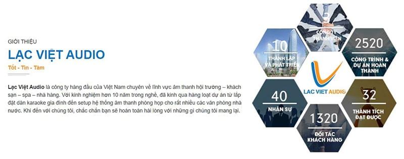 Lạc Việt Audio - Đơn vị âm thanh số 1thị trường Việt Nam