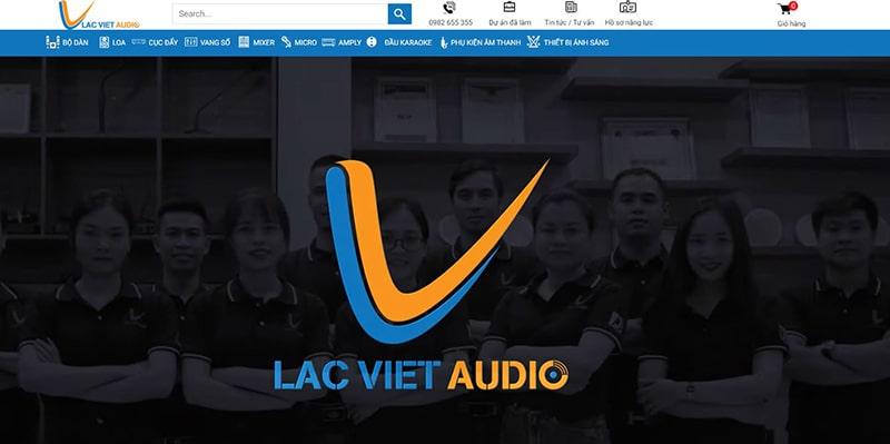 Lạc Việt Audio - Đơn vị âm thanh số 1 trên thị trường Việt Nam
