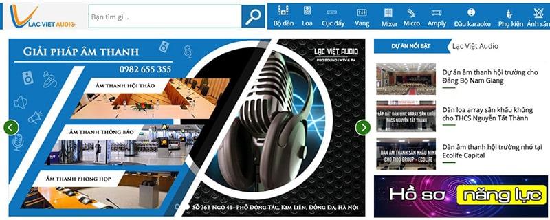 Lạc Việt Audio - Đơn vị phân phối thiết bị âm thanh hàng đầu Việt Nam