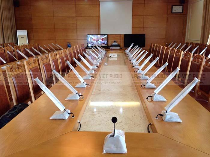 hệ thống âm thanh phòng họp, hội thảo