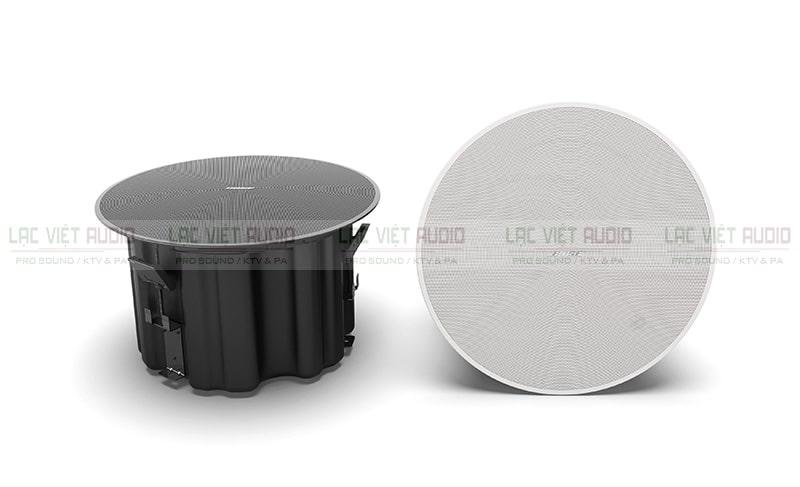 Loa âm trần Bose DesignMax DM8C có hai gam màu chủ đạo trắng và đen