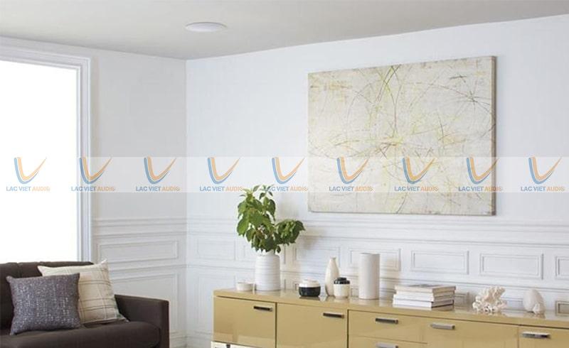 Loa âm trần TOA 15W sẽ đem đến cho bạn một diện tích phủ âm khoảng 20-25 m2