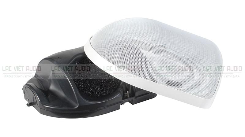Loa âm trần Toa H- 3WP EX lắp đặt ngoài trời, phù hợp nhiều điều kiện thời tiết khác nhau