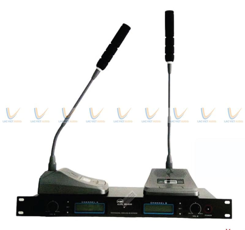 Micro cổ cò không dây KBS BS-6200