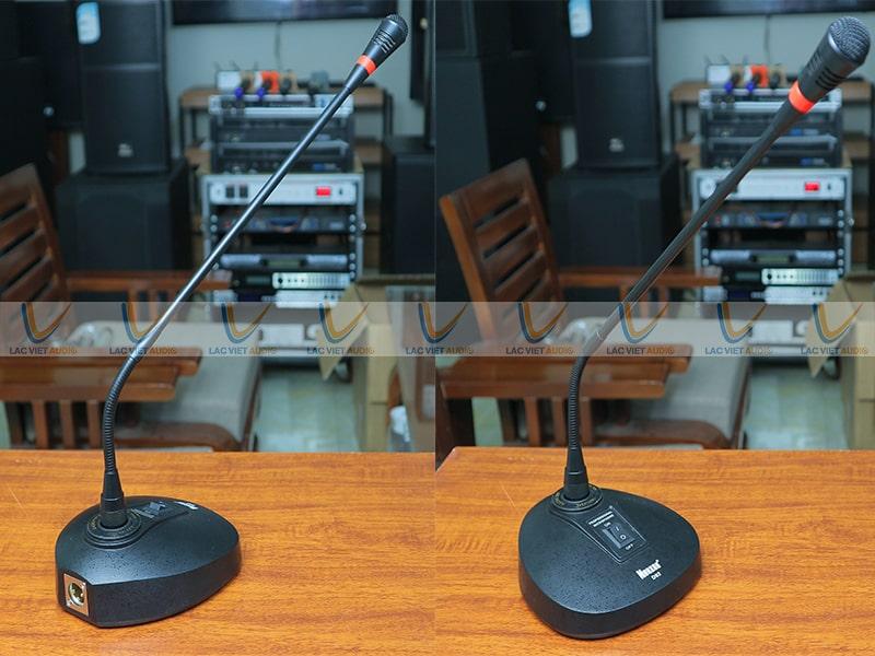 Micro cổ ngỗng Nuoxun D92 cho chất lượng âm thanh và thẩm mỹ rất đã tai đã mắt