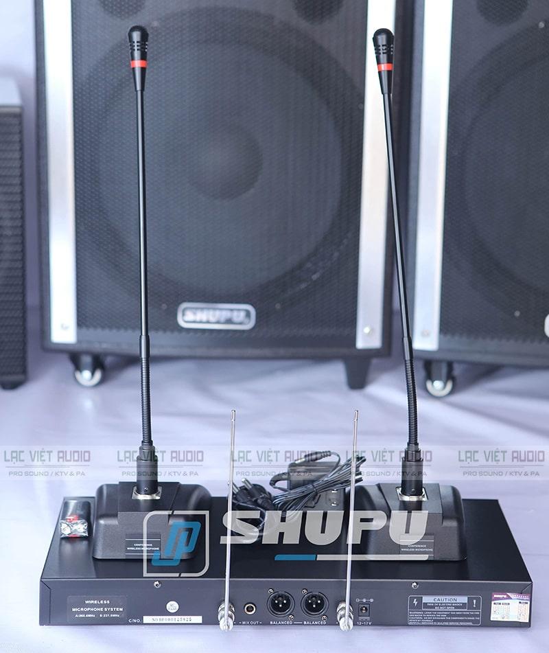 Micro cổ ngỗng Shupu EDM-2000 được tìm kiếm và sử dụng rộng rãi