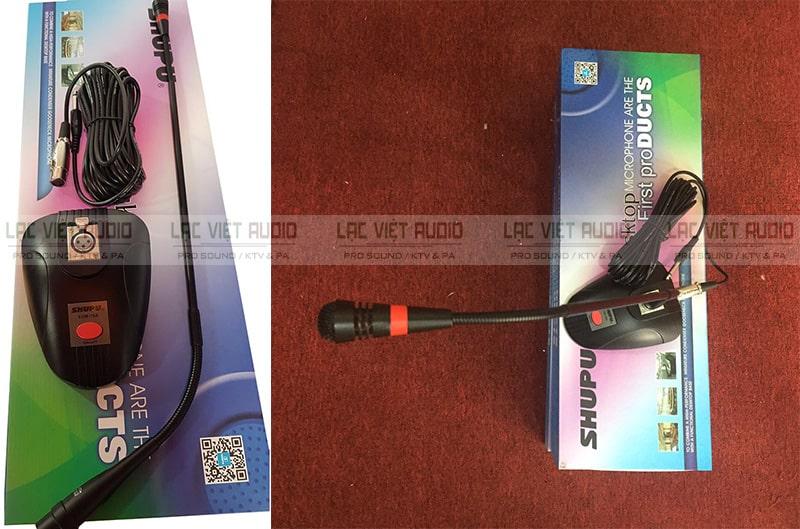 Micro cổ ngỗng Shupu EDM 78A có những nổi bật về mức giá, chất lượng thu âm, độ bền, thiết kế và công dụng