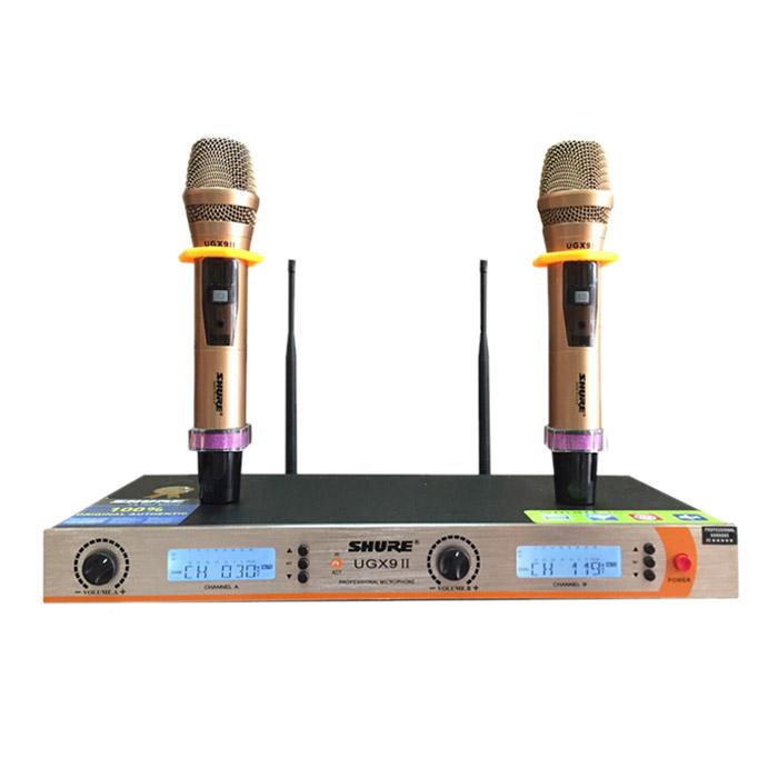 Micro không dây SHURE UGX9 ii chính hãng