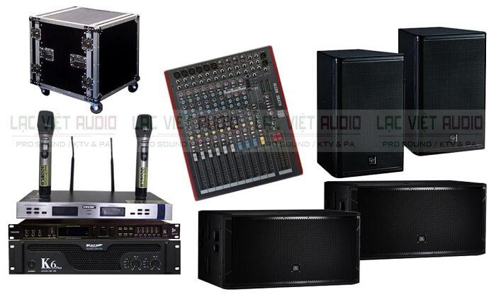 Một số cấu hình cho dàn âm thanh nhạc sống chất lượng cao