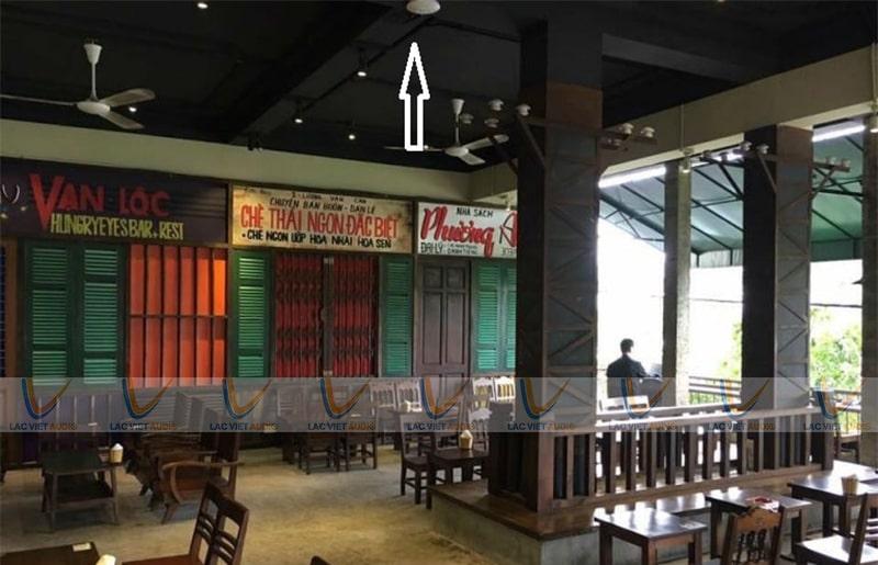 Loa bluetooth cho quán cafe dạng âm trần, âm tường