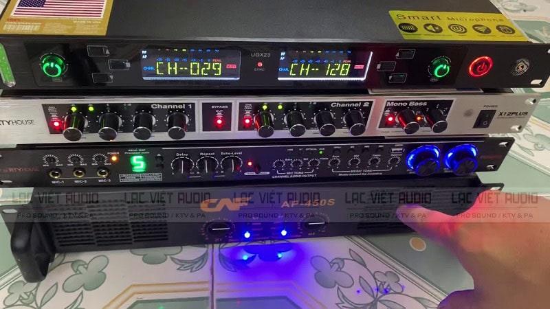 SHURE UGX 23 tương thích với các thiết bị âm thanh trong gia đình bạn