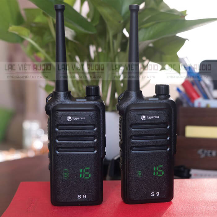 Sóng VHF trên bộ đàm là gì