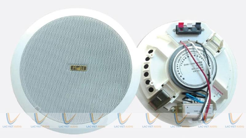 Thiết kế của loa âm trần APU KS 805 khiến quá trình lắp đặt và sử dụng dê dàng hơn