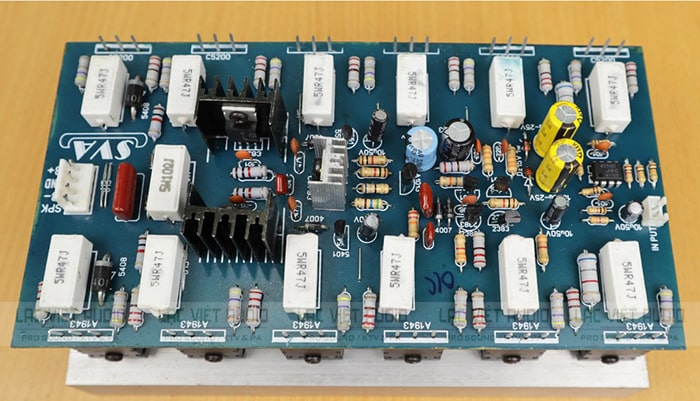 Ứng dụng mạch công suất 24 sò (cục đẩy công suất)