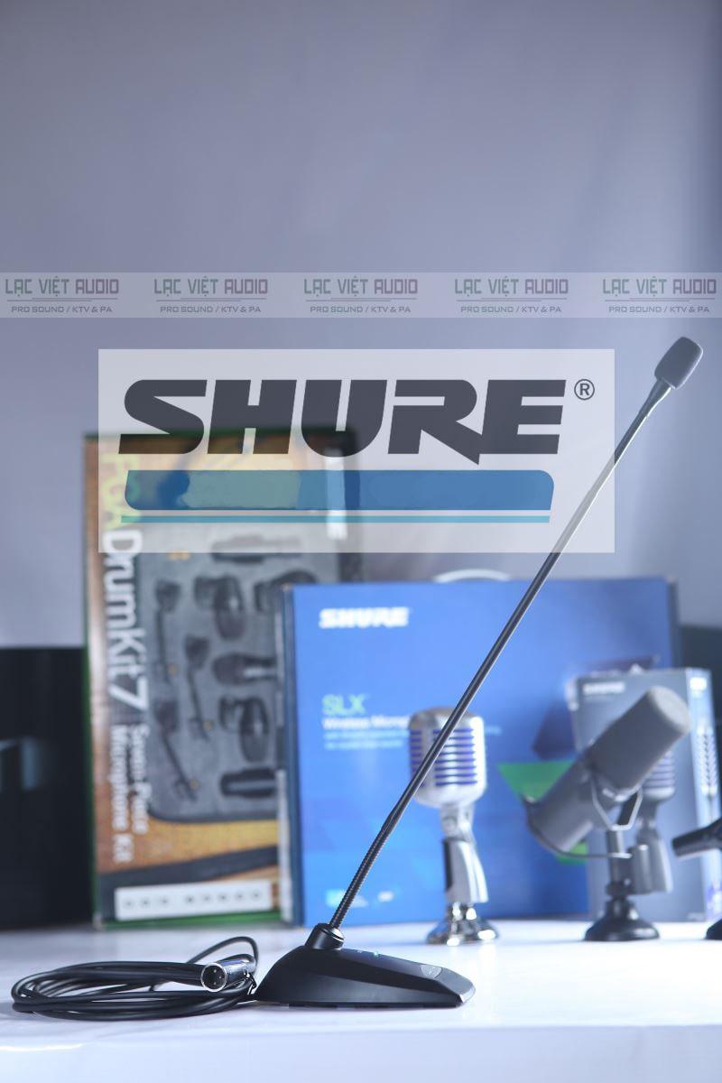 Vì nhiều đặc điểm nổi bật mà Micro cổ ngỗng Shure chiếm được rất nhiều niềm tin của khách hàng