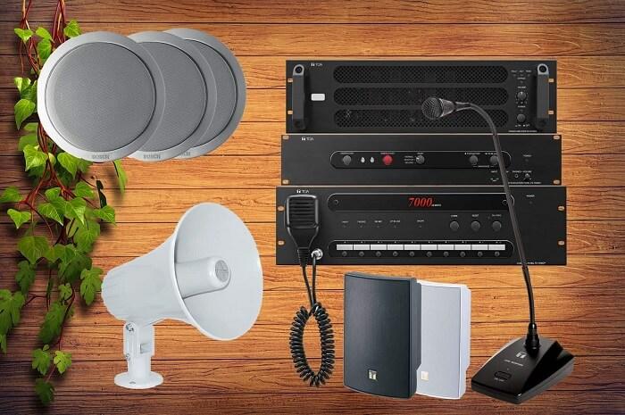 Mỗi loại loa lại thích hợp cho 1 hệ thống âm thanh nhà xưởng khác nhau