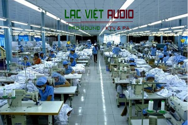 Loa phóng thanh OBT-319 dùng trong hệ thống âm thanh nhà xưởng