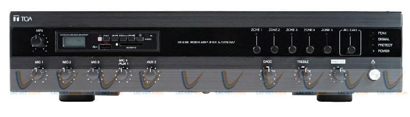 Ampli A-3212DMZ AS TOA tăng âm truyền thanh 120w có MP3
