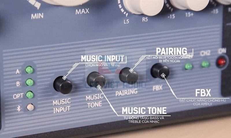 Amply kết nối thông minh với các thiết bị âm thanh khác