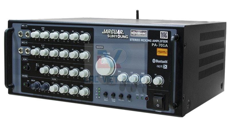 Tìm hiểu amply karaoke Jarguar PA-701a đời mới nhất