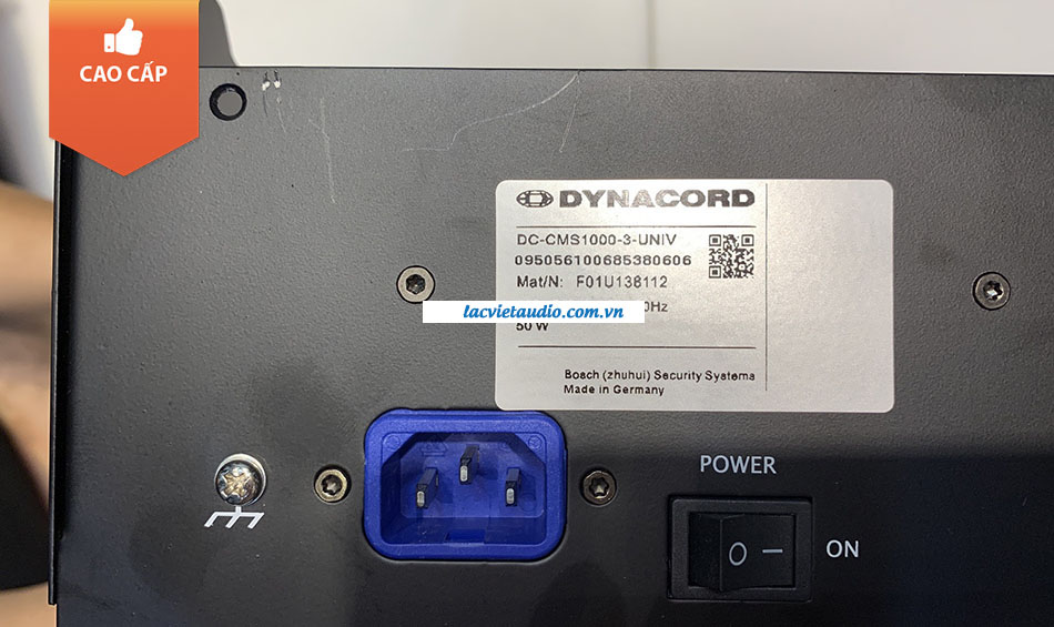 Chỗ cắm nguồn Dynacord CMS 1000