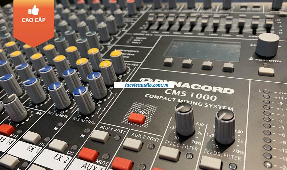 Các phím bấm điều hướng của bàn Dynacord CMS 1000