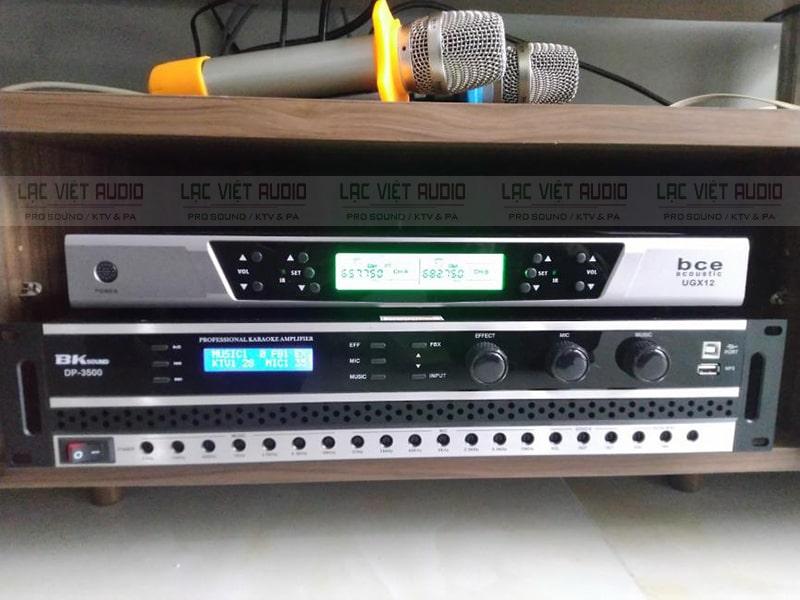 Bán micro không dây BCE UGX12 chính hãng giá tốt nhất tại Lạc Việt Audio