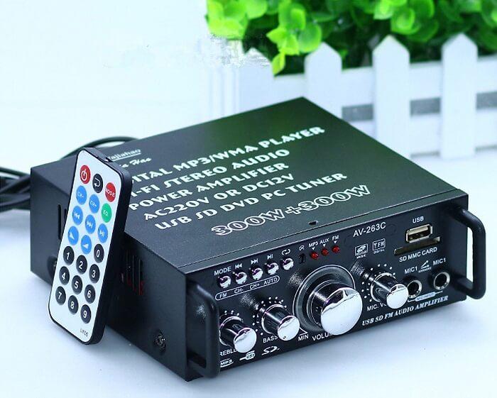 Chọn mua power amplifier giá rẻ, chất lượng