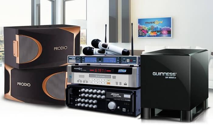 Chọn mua power amplifier tương thích với các thiết bị âm thanh trong bộ dàn