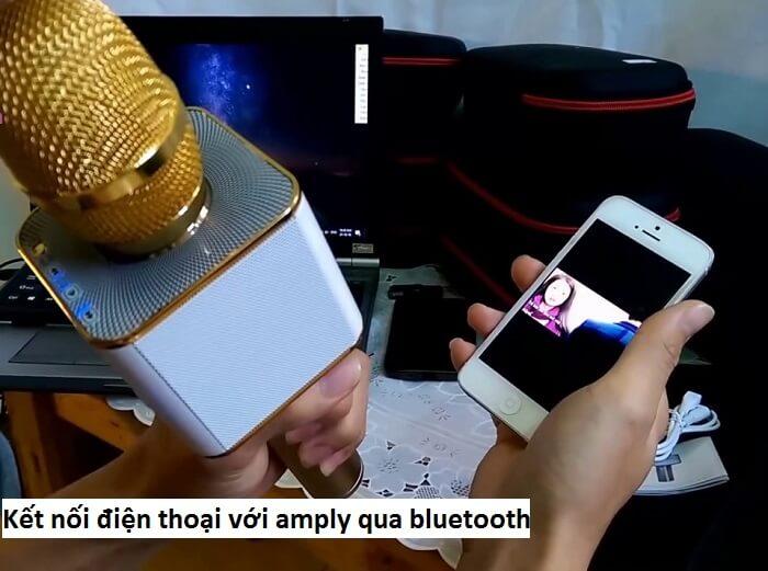 Cách kết nối điện thoại với amply bằng bluetooth