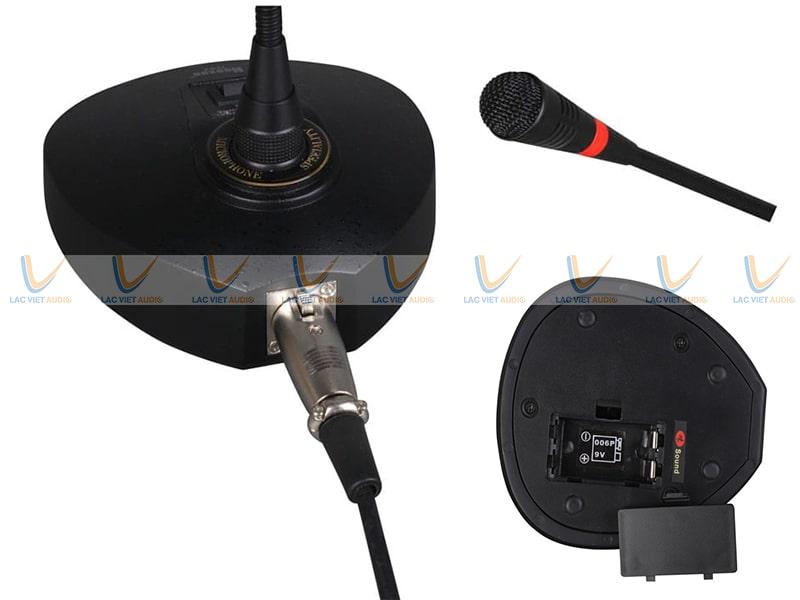 Chất lượng âm thanh, thiết kế, chức năng,... của Micro cổ ngỗng Nuoxun D92 đều rất xuất sắc